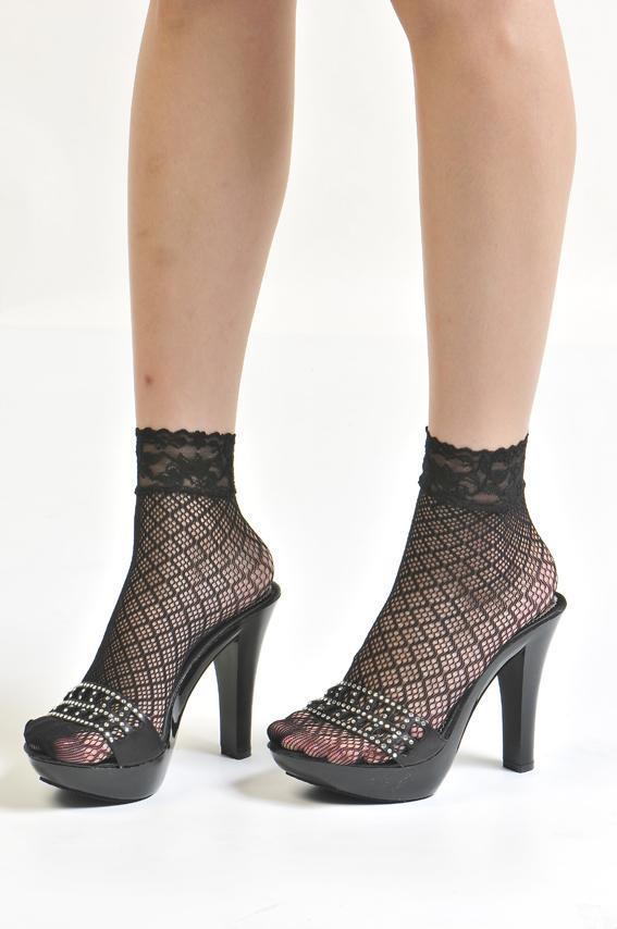 腳踝長度短襪.