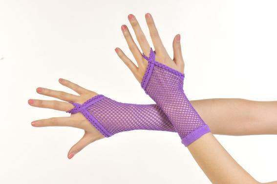 露指網狀造型保暖套/造型手套.