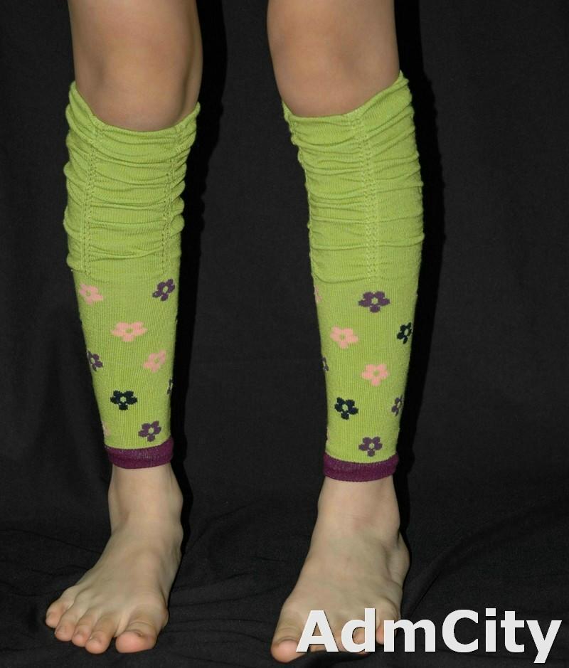 兒童超彈性 spandex 暖腿套 .