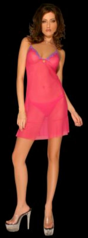 薄紗性感內衣採用浪漫蕾絲花邊,獨特弧線設計能集中突顯您胸部的曲線,短裙剪裁更讓您有輕盈曼妙的柔媚感 .