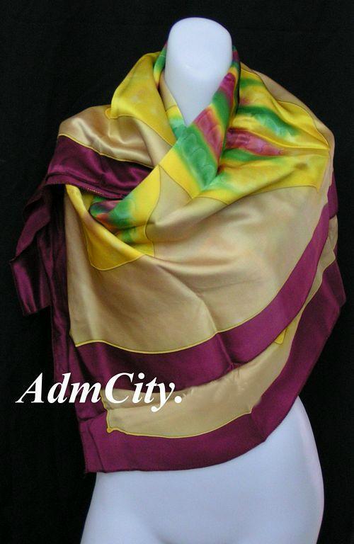 絲巾.  100 x110 cm
