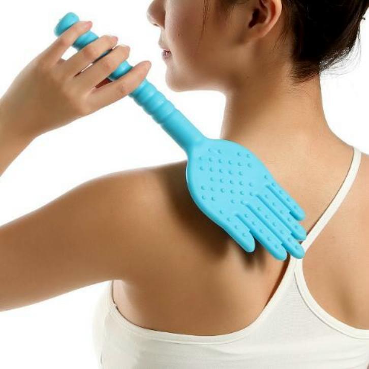 拍痧板多功能矽膠按摩棒經絡拍養生拍打板手掌拍經絡拍穴位按摩健康拍敲打拍背器帶保健拍不求人